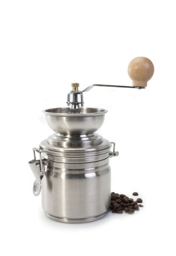 Stainless Steel 17 ounce Manual Coffee Grinder