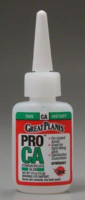 GREAT PLANES Pro CA Glue 1/2 oz Thin GPMR6001 (Ca Glue Foam Safe compare prices)