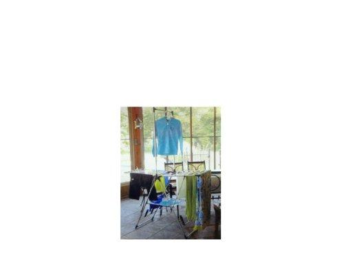 Greenway Indoor Outdoor Drying Rack with Mesh Shelf/GFR2019SS