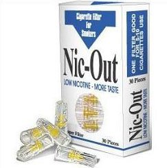 Nic-Out Filters For Cigarette Smokers