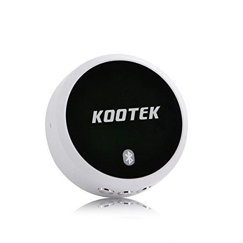 Kootek Nfc-Enabled Portable Wireless Bluetooth 4.0 Home Music Audio Stereo Receiver Adapter,Support Aptx For Cd Quality Music With 3.5Mm Audio Jack,2X3.5Mm Rca Male To Female Cables And A Usb Charger Cable For Bose Sounddock Speakers Lepai Lp-2020A+ Lp-26