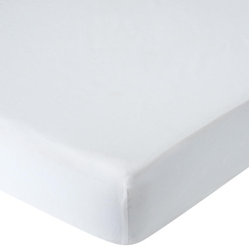 Babies R Us Percale Crib Sheet - White - 1