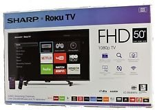 Sharp 50inch 1080p Smart HDTV with Voice Search via the Roku Mobile App for iOS, Android & Windows (Sharp 50 Lcd Tv compare prices)