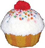 MCG Textiles Huggables Sweet Treats Cupcake Latch Hook Kit