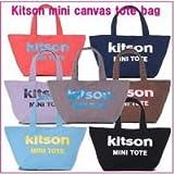 kitson Mini Canvas Tote bag  キットソンミニキャンバストートバッグ★  ブラック
