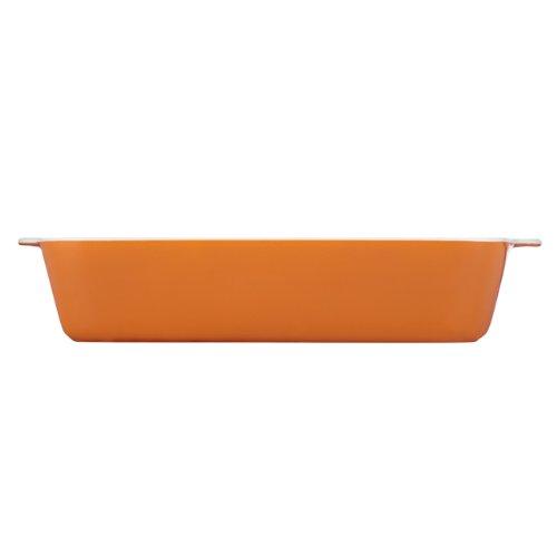 Mario Batali By Dansk 833723 Stoneware Lasagna Pan, 13 By 9-Inch, Persimmon