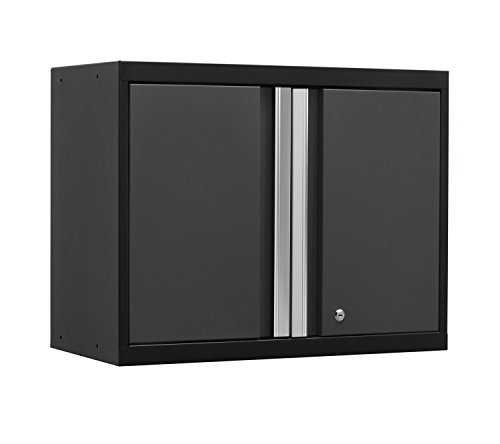 NewAge Products 52000 Pro 3.0 Series 18-Gauge Metal Wall Cabinet, Gray (Newage Cabinets Pro compare prices)