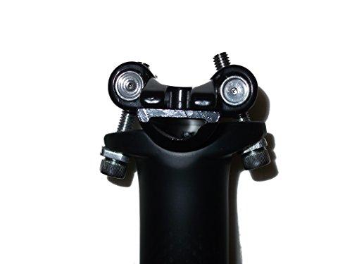 2 ボルト 締め 軽量 カーボン シート ポスト 27.2 30.8 31.6 mm 光沢 非光沢 ロード マウンテン バイク MTB シクロクロス 快適 な 旅 のお 供 に! (31.6 マットブラック)