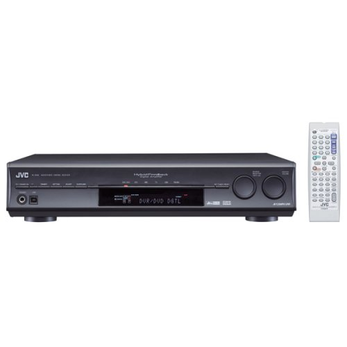 JVC RX-D206B 7.1-Channel Home Theater Receiver with USB PC Link and Game Mode, Black