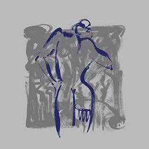 Body Language VIII (silver), Art Poster by Alfred Gockel