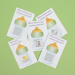 Baby Shower Scratch Tickets  - Bulk