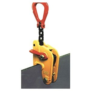 Lifting Clamp, Plate, Capacity 3300 lb.