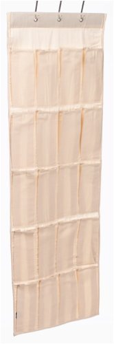 Household Essentials 01882 20-Pocket Over-the-Door Canvas Shoe OrganizerB0000CNQZD