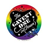 NSI - The Gayest One In Town Rainbow Pride - Sticker / Decal