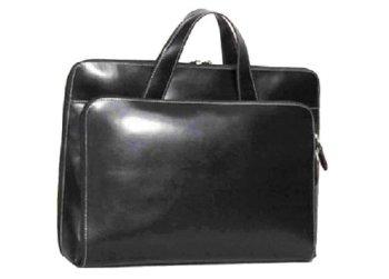 cases samsonite leather lady portfolio    rich split leather exterior