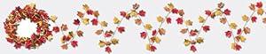 Gleam 'N Flex Autumn Leaf Garland Party Accessory (1 count) (1/Pkg)