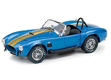 1966 Shelby Cobra 427 S/C in Blue and Gold by The Franklin Mint in 1:24 Scale