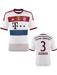 FC Bayern Alonso Trikot Away 2015 WC