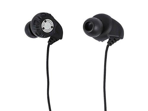 Monoprice 109927 Enhanced Bass Hi-Fi Noise Isolating Earphones, Black