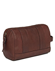 Autograph Luxury Leather Washbag