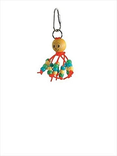 Paradise Baby Budgie Beads Pet Toy, 3 By 7-Inch