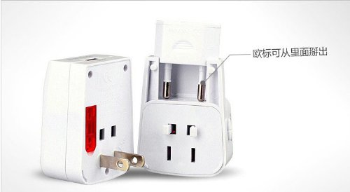 Newdigi® Universal World-Wide Travel Adapter With Usb Port(Built-In Usb)