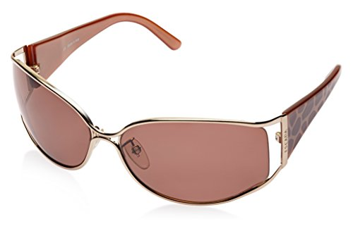 Escada Escada Oversized Sunglasses (Golden) (SES 550|300|Free Size) (Yellow)