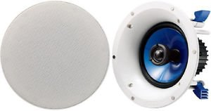 1-Pair Yamaha Ns-Ic600 Speakers System Flush In-Celing/Wall 6.5-Inch 110 Watts Good Gift Ship Worldwide Fast Shiiping