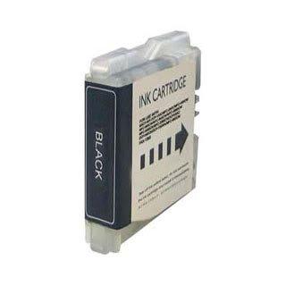 Brother LC970BK / LC1000BK (LC51) - Schwarz Kompatible Drucker-Tintenpatrone für Brother DCP-130C DCP-135C DCP-150C DCP-153C DCP-157C DCP-330C DCP-350C DCP-353C DCP-357C DCP-540CN DCP-560CN DCP-750CN DCP-750CW DCP-770CW / FAX-1860C FAX-1960C FAX-2480C / MFC-260C MFC-885CW MFC-235C MFC-240C MFC-3360C MFC-440CN MFC-465CN MFC-5460CN MFC-5860CN MFC-660CN MFC-665CW MFC-680CN MFC-685CW MFC-845CW