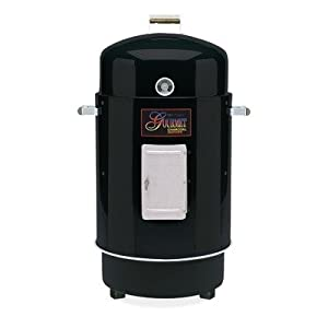 Gourmet Charcoal Smoker And Grill Finish Hunter Green from Brinkmann