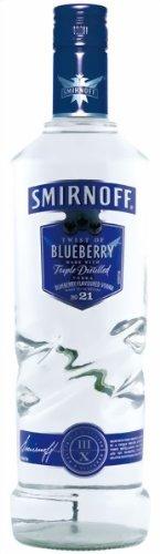 Smirnoff discount duty free Smirnoff Blueberry Flavoured Vodka