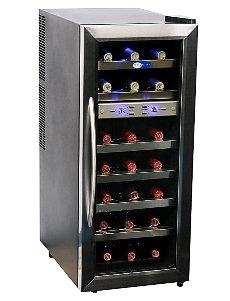 21 Bottle Dual Temperature Zone Wine Cooler front-573131