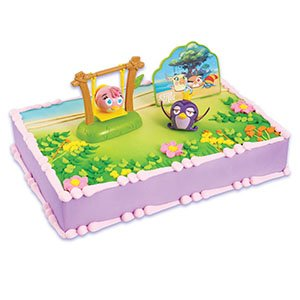 Stella from angry birds cake decorating for Angry birds cake decoration kit