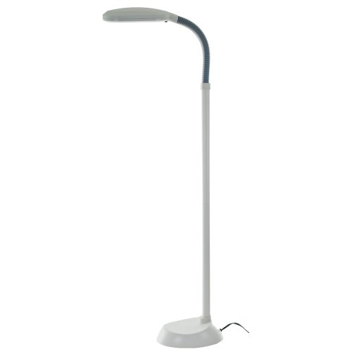 Lavish Home Sunlight Floor Lamp, White