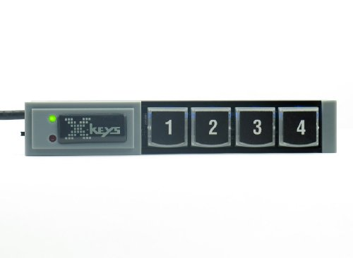 X-Keys Usb Stick Keys With 4 Programmable Keys