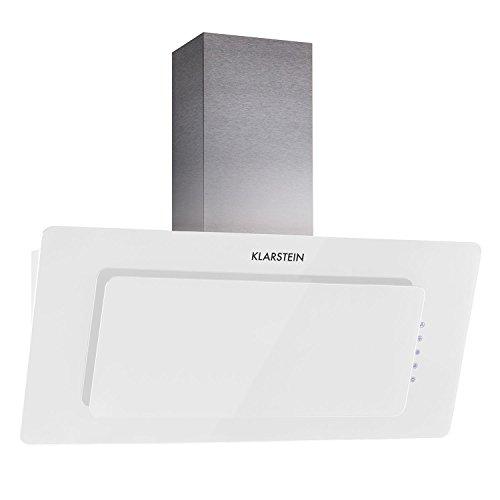 Klarstein gl90ws hotte aspirante 4260365789996 cuisine maison hott - Hotte aspirante moderne ...