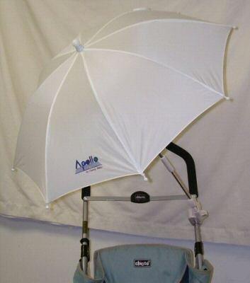 Stroller Umbrella - White - Buy Stroller Umbrella - White - Purchase Stroller Umbrella - White (Baby Products, Categories, Strollers, Accessories)