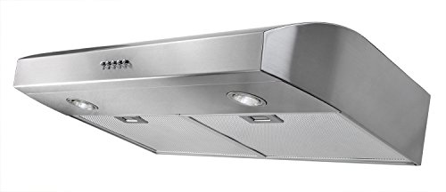 AKDY 30-Inch 3-Speed Stainless Steel Under Cabinet Range Hood AZ-W0175SS (Silver) (Akdy Under Cabinet Range Hood compare prices)