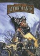 WARLORDS of the Accord Monster and Lairs (Warlords of the Accordlands)
