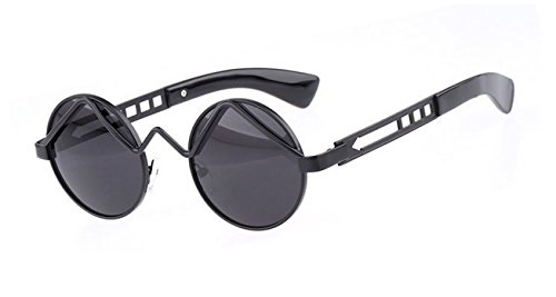 Cheap Designer Sunglasses Black Punk Sun Spectacles Uv400