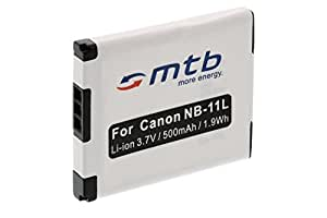 Batterie NB-11L pour Canon PowerShot A2300, A2400 IS, A2500, A2600, A3400 IS, A3500 IS