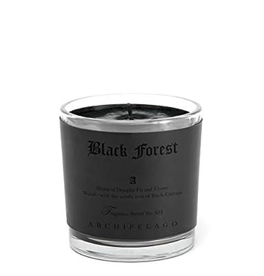 Archipelago Black Forest Letter Press Candle
