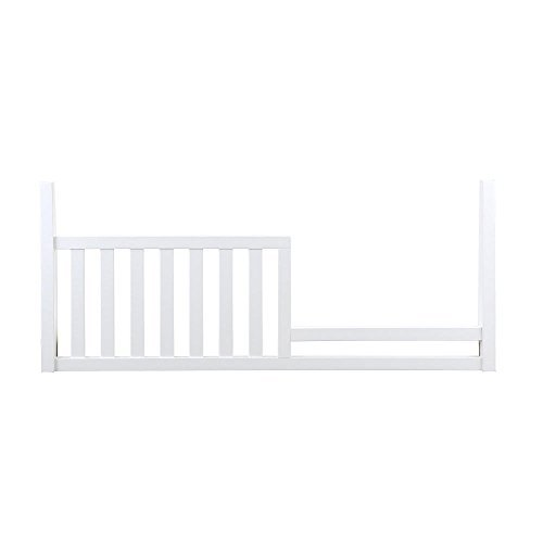 Nursery Smart Darby Toddler Guard Rail, Pure White