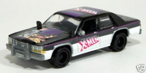 JOHNNY LIGHTNING UNCANNY XMEN #11 CROWN VICTORIA DIE CAST VEHICLE - 1