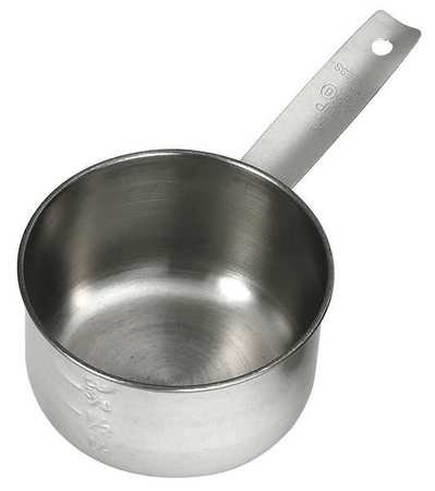 Tablecraft (724D) 1 Cup Stainless Steel Measuring Cup