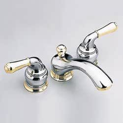 Moen T4560cp 9300 Monticello 4 39 39 Minispread Bathroom Faucet Chrome Polished Brass Plumbing