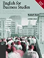 English for Business Studies Student's book by MacKenzie