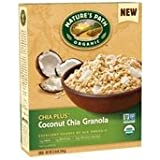 Natures Path Cereal, Coconut Chia Granola, Chia Plus, 12.34 Oz, Pack Of 6