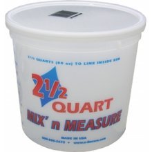 Encore LS61086 2.5 Quart Mix' N Measure Container