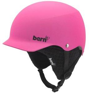 Bern BMX Helm Muse mit schwarzem Innenfutter matt magenta (Größe: L)